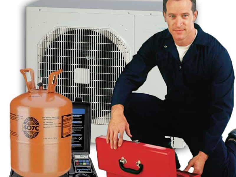 recharge de gaz pour climatisation